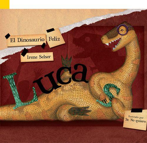 Lucas, el dinosaurio feliz